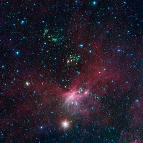 NASA's Spitzer Sees Milky Way's Blooming Countryside - NASA Jet Propulsion Laboratory